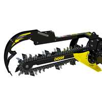 Ride on Skid Steer - Trencher Attachment